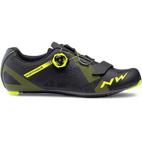 Northwave Storm Carbon Shoes Men black/yellow fluo